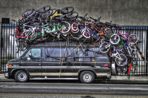 timmelideo:  So that's where all the bikes have gone. (Photo by Ryan Melideo).