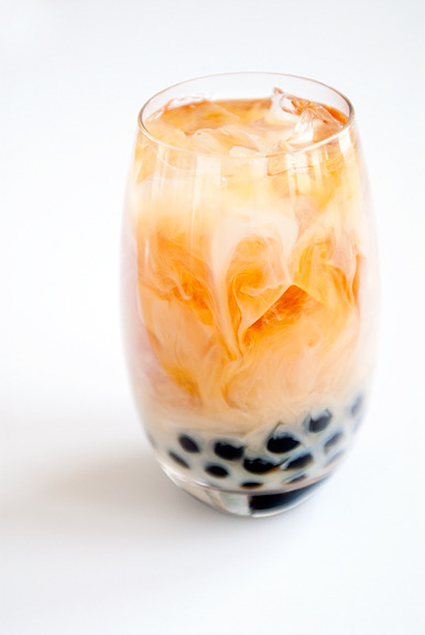 therecipejunkie:  Milk Boba Tea