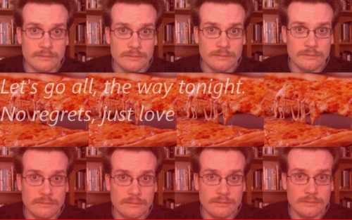 My OTPs: John Green/Pizza Let's go all, the way tonight. no regrets, just love