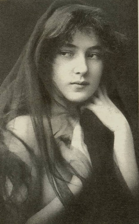 Evelyn Nesbit, Model(1901)