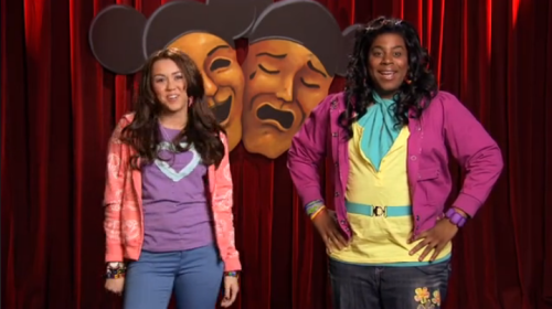 Disney Channel Acting School with Miley Cyrus & Raven Symone Raven: the funeral's on Mondaaaaay!