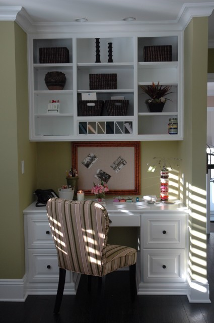 Bedroom Office - traditional - home office - other metros