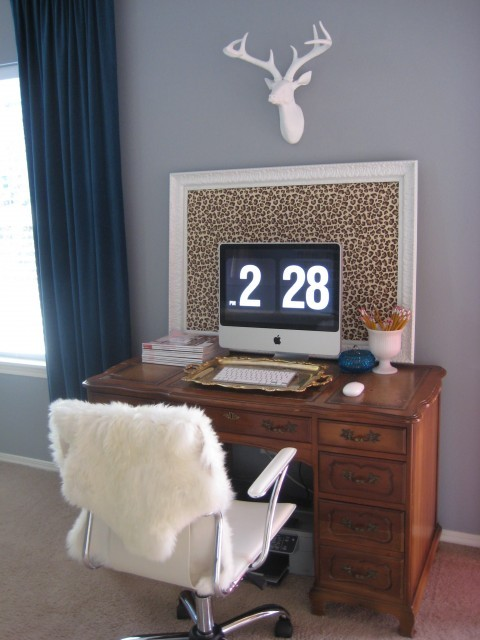 Desk - eclectic - home office - portland - by Leah