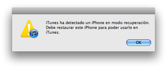 Restoring iPhone: Sad Robot…