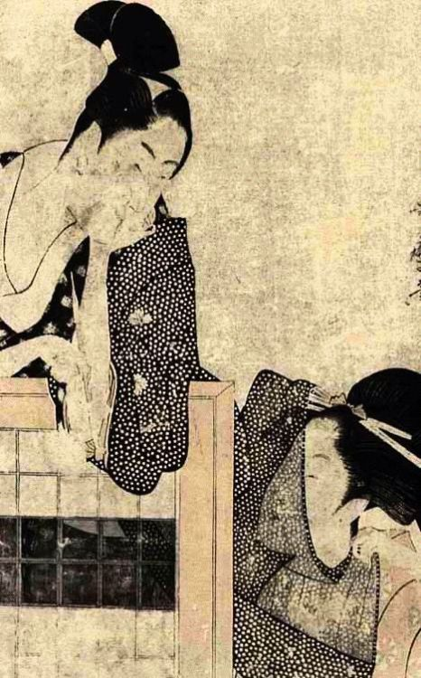 artemisdreaming:  Lovers' Silent Talk  Kitagawa Utamaro