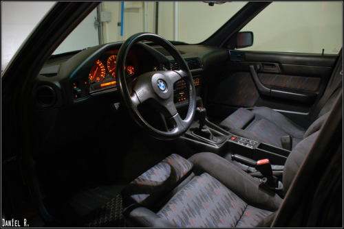 interior shot of the E34