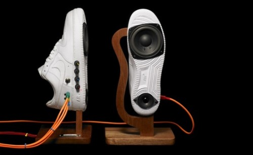 Nike Sneaker Speaker! What a sweet gadget by Intercity Studio