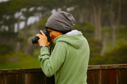 'Rosie Shoots' My host, Rosario, smashin' some shots at Land's End. Enjoy.