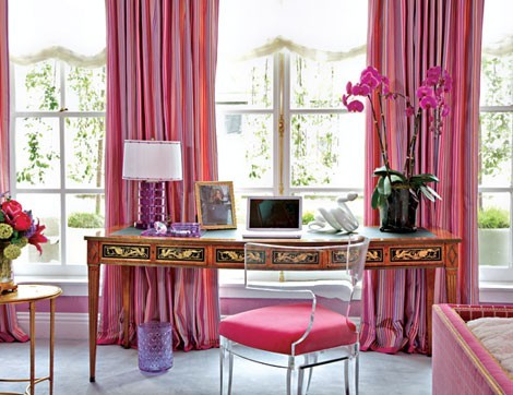 inspired-design:  Bijou and Boheme: Wink of Pink #14 - Interiors