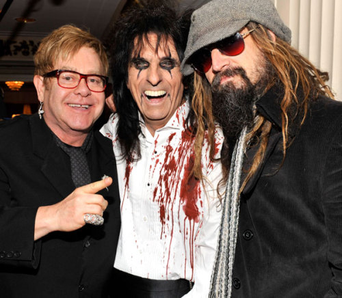 "The 26th annual Rock and Roll Hall of Fame Induction Ceremony Monday night was an unforgettable tribute to the five musicians it celebrated.  The five new members—Alice Cooper, Tom Waits, Darlene Love, Dr. John and Neil Diamond—were joined by such diverse guests as Bette Midler, Elton John, Leon Russell, John Legend and Rob Zombie at the Waldorf-Astoria for what we called a ""long, amazing evening,"" including an awesome Cooper-Diamond duet on Love's classic, ""Da Doo Ron Ron Ron."" You can watch video from the incredible concert that made up the second half of the evening, check out photos of the entire ceremony and read our firsthand accounts of the festivities, performances and guest tributes over at RollingStone.com right now.  We've also got tons of behind the scenes footage and interviews with the inductees to tide you over until Fuse broadcasts ceremony highlights on March 20th."