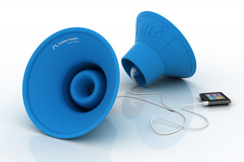 mostbest:  Tembo Trunks - Earbud Speakers by Scott Norrie
