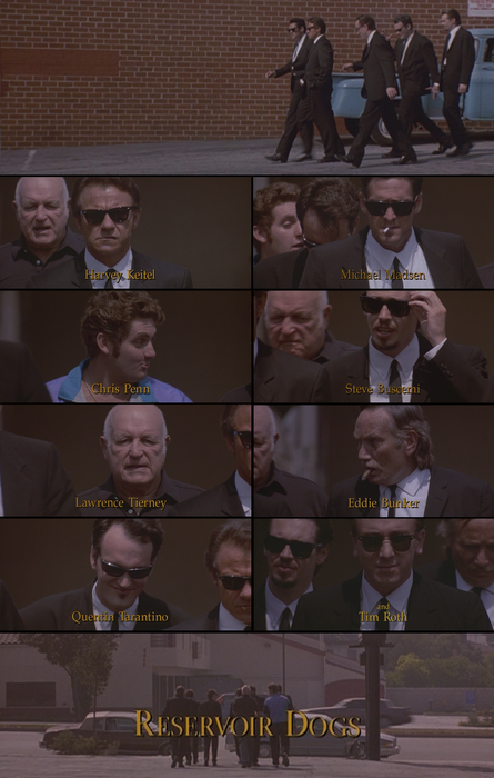 fuckyeahstevebuscemi:  Reservoir Dogs, 1992