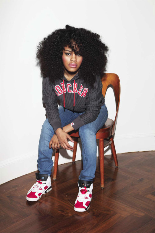 Teyana Taylor & Air Jordan 6 Retro Carmine Sneakers $Swag Elite$