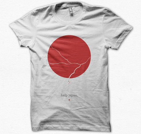 respireapparel:  help japan. Available now for pre-order! 100% of the profit will go straight to a charity providing relief for Japan.  We want to do everything we can to support Japan in these times! Help us support Japan by purchasing the shirt here. Please reblog!
