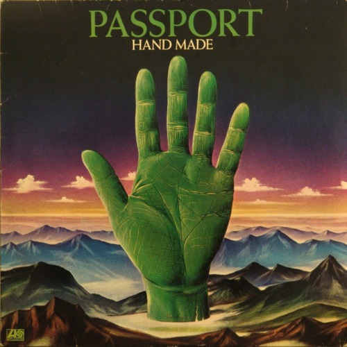 black-hands:  Hand Made, Passport. Record sleeve found here.
