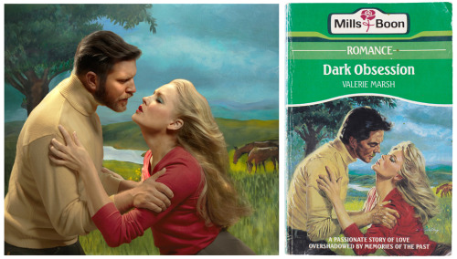 This UK couple is dedicated to recreating classic Mills & Boon romance covers! Source: http://www.oliandalex.com/mills-boon/