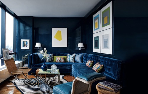 inglenookdecor:  cobalt blue….yum!