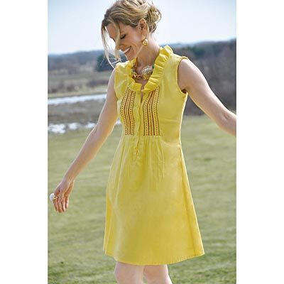 Pretty in Yellow! Tracy Porter Sussex Summertime Dress
