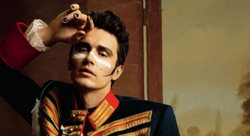 bohemea:  James Franco - GQ UK Style by Inez & Vinoodh, 2011   Channeling his inner Adam Ant? LOVE.