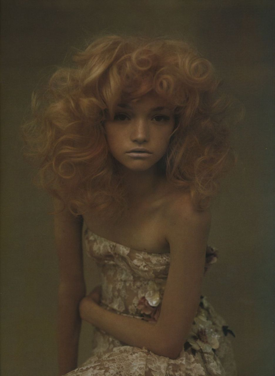 Gemma Ward photographed by Paolo Roversi - Vogue Italia Couture Supplement: March 2004 - Just Enchanting