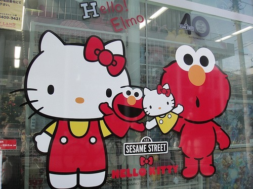 Sesame Street x Hello Kitty