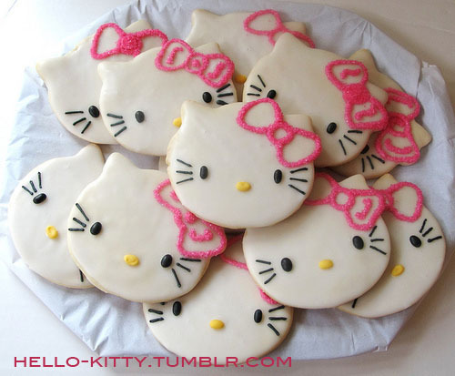 hello-kitty:  Hello Kitty Cookies