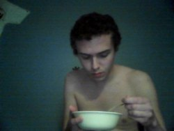 Being naked + Clam chowder = God, I don't even know…