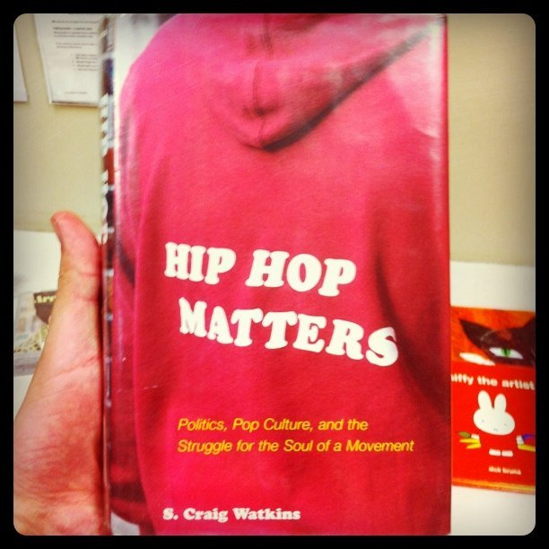 Here's my pick for the day, Hip-Hop Matters.  (Taken with Instagram at Carnegie Library)