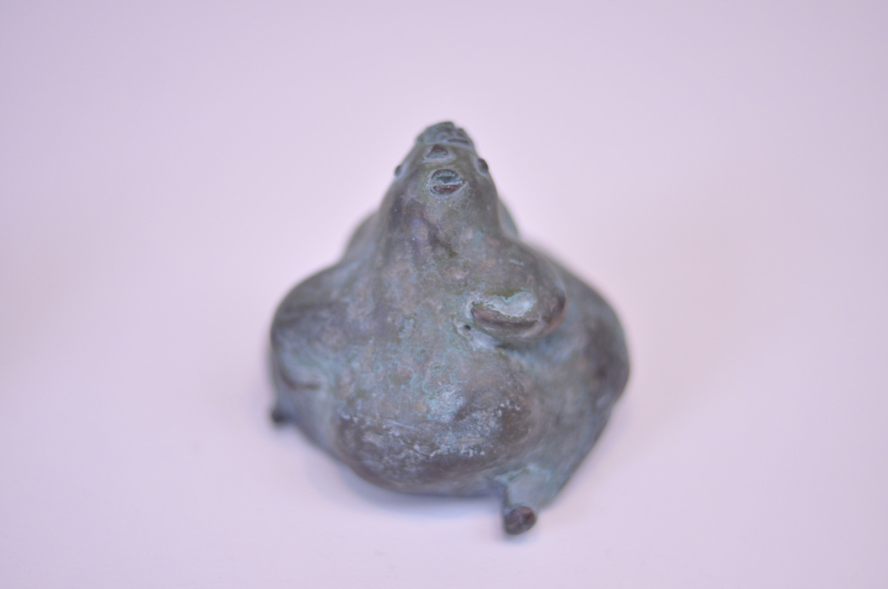 """Mori no ko"" (Deep forest) // Bronze, H:50 W:60 D:55 // 2010"