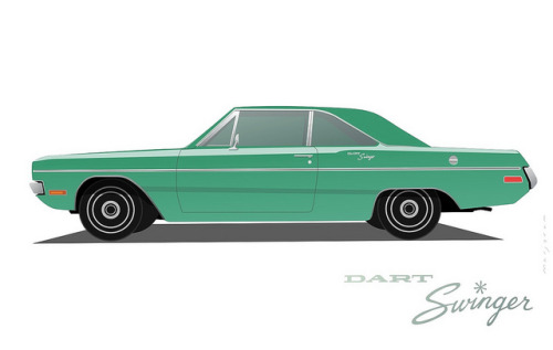 Dodge Dart Swinger (by Stefan Marjoram)