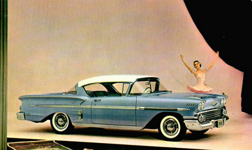 1958 Chevrolet Impala Sport Coupe (by Alden Jewell).