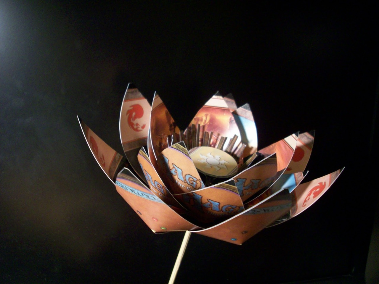 Black Lotus paper craft