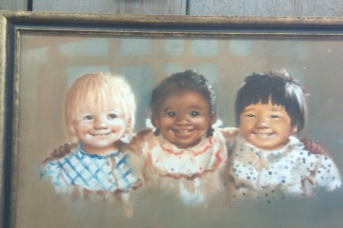 I found this painting at a local antique store. I considered buying it, but decided that $850 was a little steep…