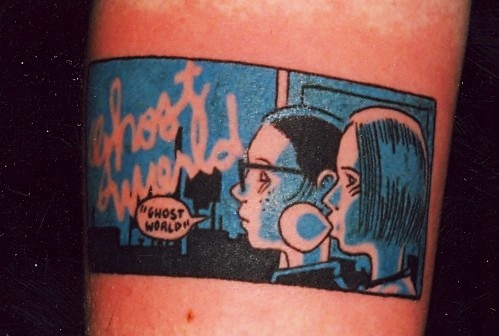 See some more awesome indie comics tattoos over at Flavorwire.