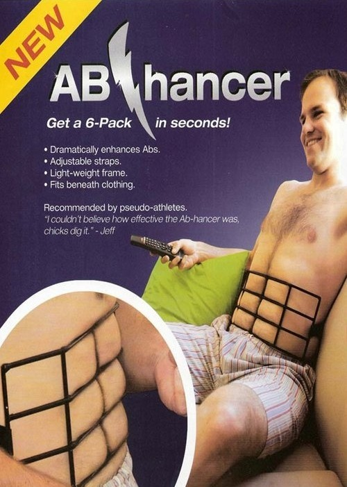fuckyeahdementia:  get a 6-pack in seconds