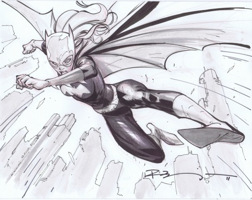 I just love a fierce Babs as Batgirl like this one by Ryan Benjamin comicism:  Barbara Gordon