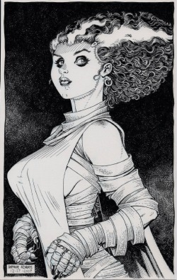 The Bride Of Frankenstein by Art Adams
