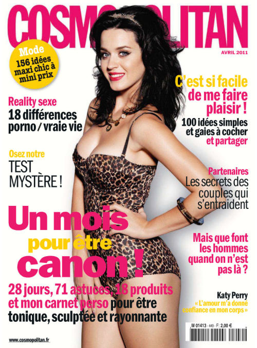jazzerv:  Katy Perry @Cosmopolitan (France) Magazine (April 2011)  oohh.. i so love Katy! :D