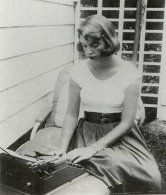 sylvia plath.  perfect summertime skirt/belt combo…