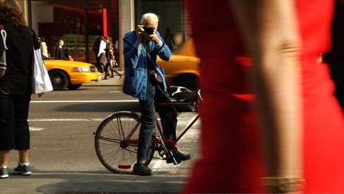 """Please, he's the most important person on Earth."" gq:  Bill Cunningham: The Original Street-Shooting Man  Cunningham is in many ways the exact opposite of the self-glorifying  fashionistas whose images he's captured for the last five decades. He  lives in a rent-controlled place the size of a pantry, containing little  more than a cot propped up on milk crates and filing cabinets housing  thousands of photo negatives (the communal bathroom is just down the  hall). He wears the same outfit each day (khakis, blue workman's jacket,  camera). He repairs his $20 parka with tape rather than buy a new one.  He prints snapshots at a one-hour photo center. This is the same guy, mind you, who sits front row at the most important runways; who, in the film, is  let into a fashion show by a publicist who shoos aside the doorwoman  and states, ""Please, he's the most important person on Earth.""  From GQ reporter Eric Sullivan's elegant write-up of the new documentary Bill Cunningham New York, which just opened in, go figure, New York. (It'll get to a city near you soon enough.) Click here to read the rest."