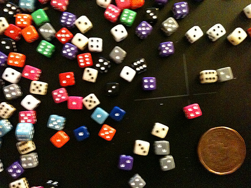 more tiny dice