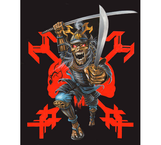 Iron Maiden to sell their Japan version of latest tour T-shirts for Charity  Following the cancellation of both Maiden Tokyo shows due to recent events in Japan, we will be donating the proceeds from sales of the Japanese event shirt available from the Official Iron Maiden Shop (ie. the shirt without tour dates on) to a Charity assisting victims of the earthquake. Feedback from our Fanclub Forum suggests our fans fully support this proposal. We plan to do likewise with the stock of event shirts currently in Tokyo, which were due to be sold onsite at the Tokyo venue (ie. the shirt with tour dates on). Details will follow as soon as possible as to where these will be available from, once we have worked out shipping etc. Shirts are now available at shop.ironmaiden.com  The above image is the back of the T-Shirt. Here is the front:  Pretty cool gesture. If you are a fan, or into ironic fashion, you can find more info here