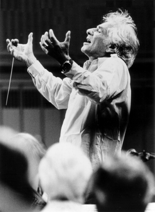 jasonssymphony:  Leonard Bernstein - No words needed