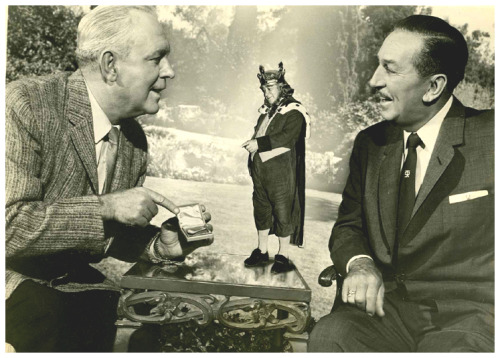 "Pat O'Brien, Brian Connors and Walt Disney promoting Darby O'Gill And The Little People on ""Walt Disney Presents"" - (1959)"