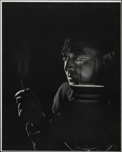 Peter Lorre, California, Feb. 1946 -by Yousuf Karsh [version on vote…] via LAC
