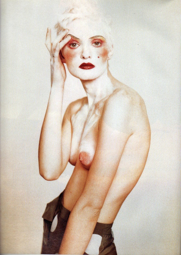 photographed by Paolo Roversi - Glamour France: February 1994