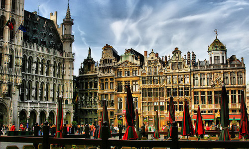 Grand Place, Brussels, Belgium (by ' Toshio ')