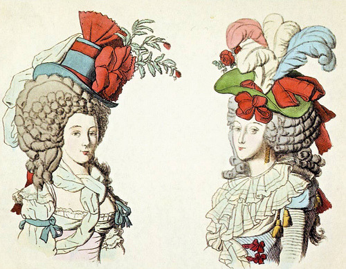18thcenturyfashion:  Lady Patriots, 1790 (French)