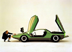 Marcello Gandini and the Alfa Romeo 33 Carabo Bertone