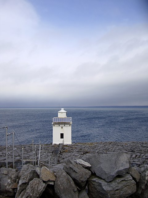 Lighthouse. Ireland.
